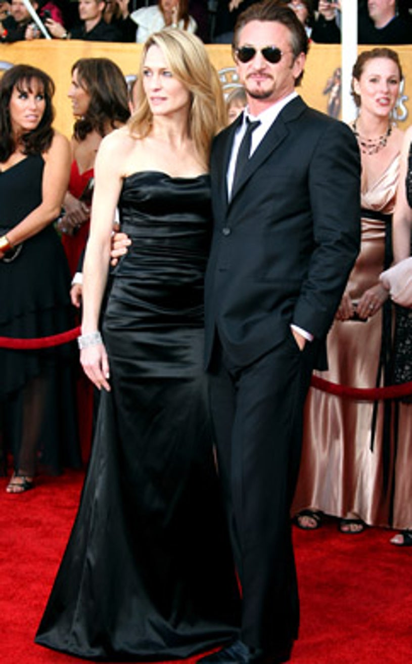 Robin Wright Penn and Sean Penn - The 15th Annual Screen Actors Guild Awards in Los Angeles, January 25, 2009