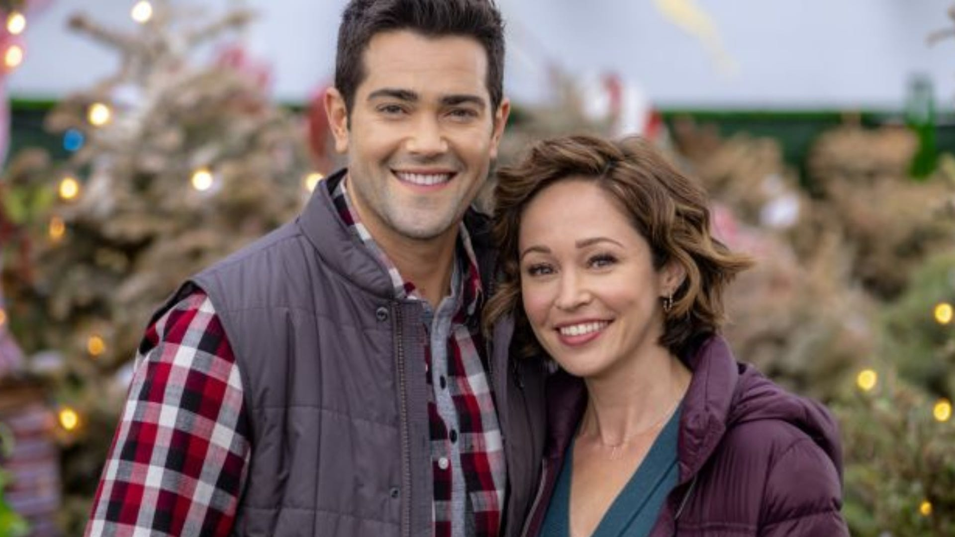 Jesse Metcalfe and Autumn Reeser, Christmas Under the Stars