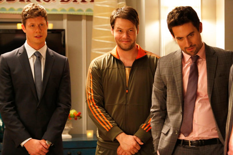 """The Mindy Project - Season 2 - """"All My Problems Solved Forever"""" - Anders Holm, Ike Barinholtz and Ed Weeks"""