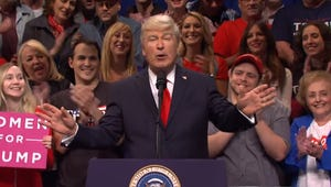 Alec Baldwin Parodies Trump Rally on Saturday Night Live