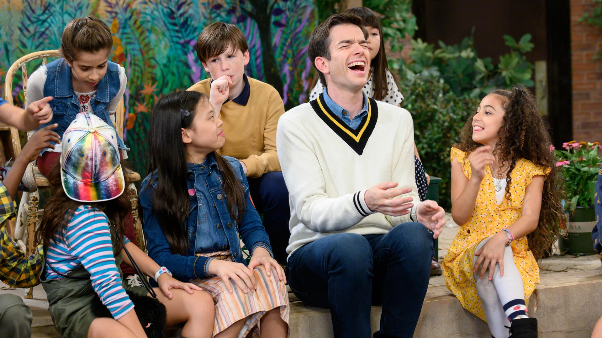 John Mulaney and a bunch of kids, John Mulaney and the Sack Lunch Bunch
