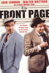 The Front Page as Peggy Grant