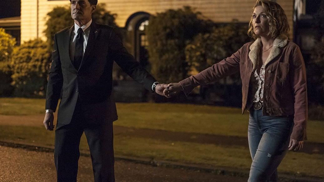 Kyle MacLachlan and Sheryl Lee, Twin Peaks