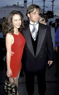 Jennifer Love Hewitt and Joey Lawrence - American Music Awards, Jan. 1996