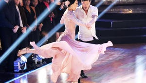 Dancing with the Stars Recap: One Couple Gets a Perfect Score, and Another Couple Kisses!