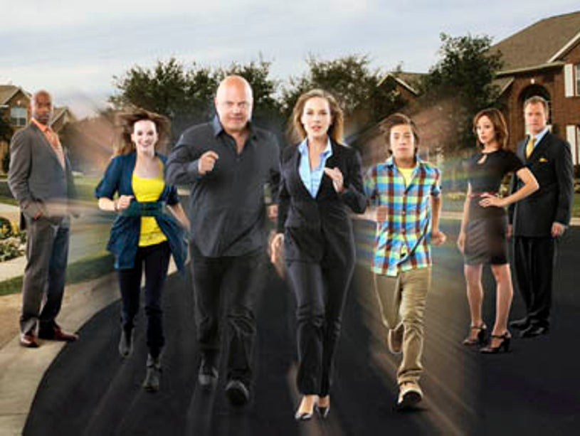 No Ordinary Family - Romany Malco as George St. Cloud, Kay Panabaker as Daphne Powell, Michael Chiklis as Jim Powell, Julie Benz as Stephanie Powell, Jimmy Bennett as JJ Powell, Autumn Reeser as Katie Andrews and Stephen Collins as Dr. Dayton King