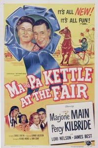 Ma and Pa Kettle at the Fair as Sheriff