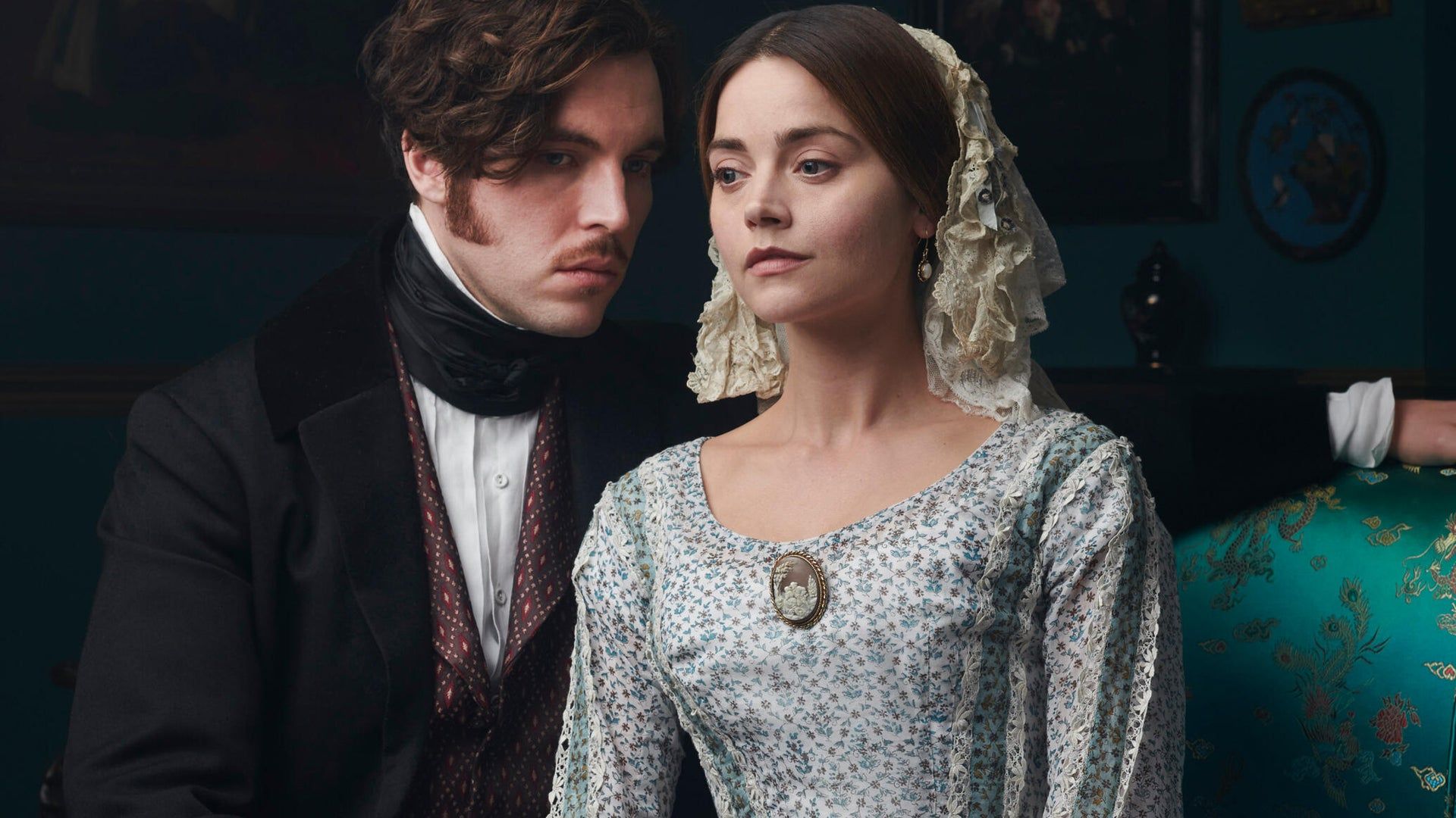Tom Hughes and Jenna Coleman, Victoria