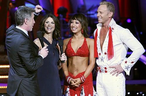 Dancing with the Stars - Season 4 - Tom Bergeron, Samantha Harris, Ian Ziering and Cheryl Burke