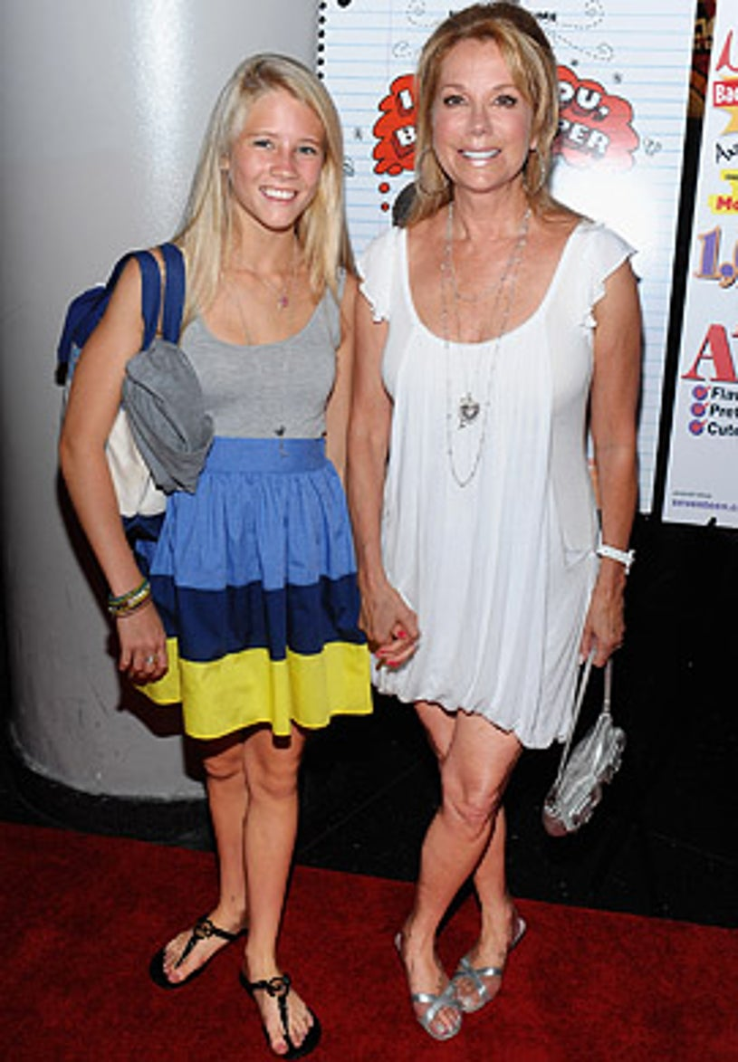 """Cassidy Gifford and Kathie Lee Gifford - A private screening of """"I Love You Beth Cooper"""" in New York City, July 7, 2009"""