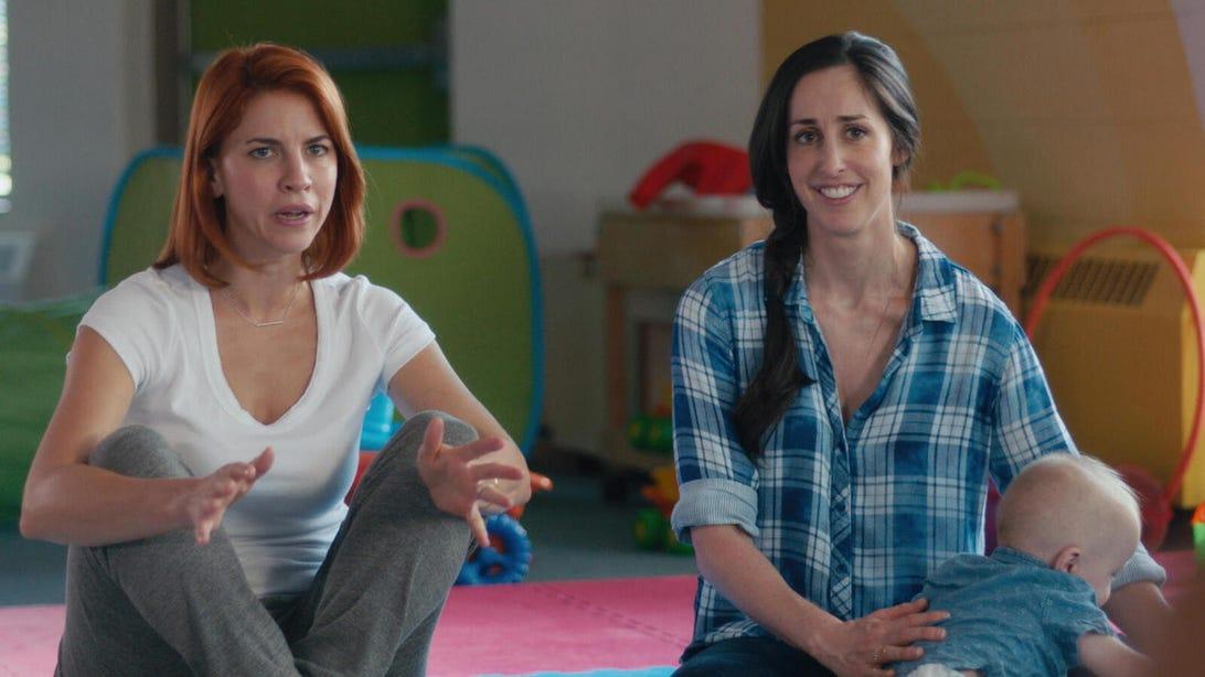 Dani Kind and Catherine Reitman, Workin' Moms