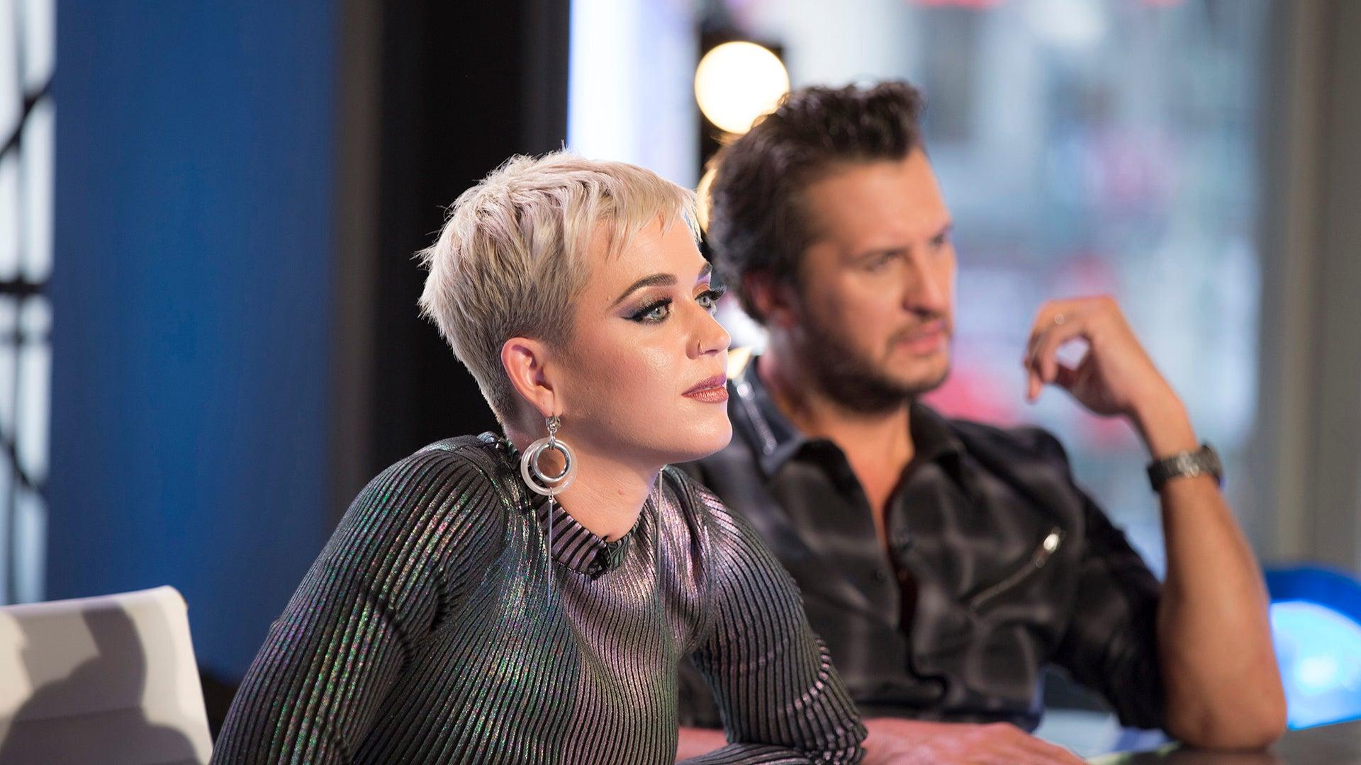 Katy Perry and Luke Bryan, American Idol