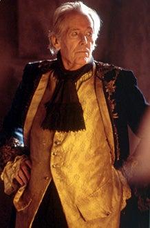"""Masterpiece Theatre - """"Casanova"""" - Peter O'Toole as the elder Giacomo Casanova"""