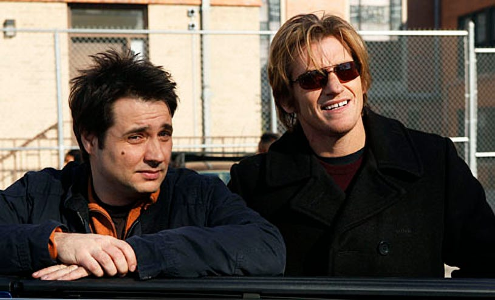 "Rescue Me - Season 6 - ""Forgiven"" - Adam Ferrara and Denis Leary"
