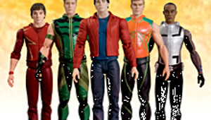 Smallville Toys Around with the Justice League