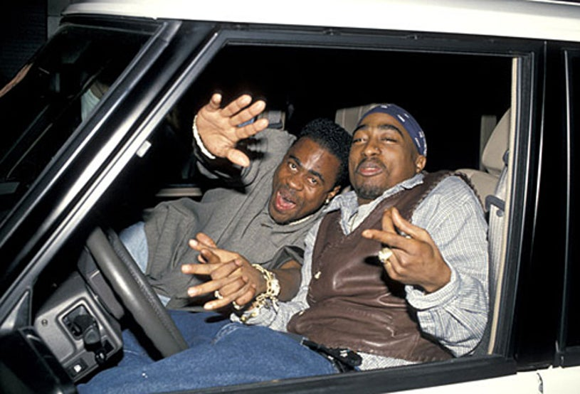 """Tupac Shakur - Party For """"Red Rock West"""" - New York City, NY - April 2, 1994"""