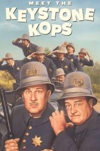 Abbott and Costello Meet the Keystone Kops as Wagon Driver