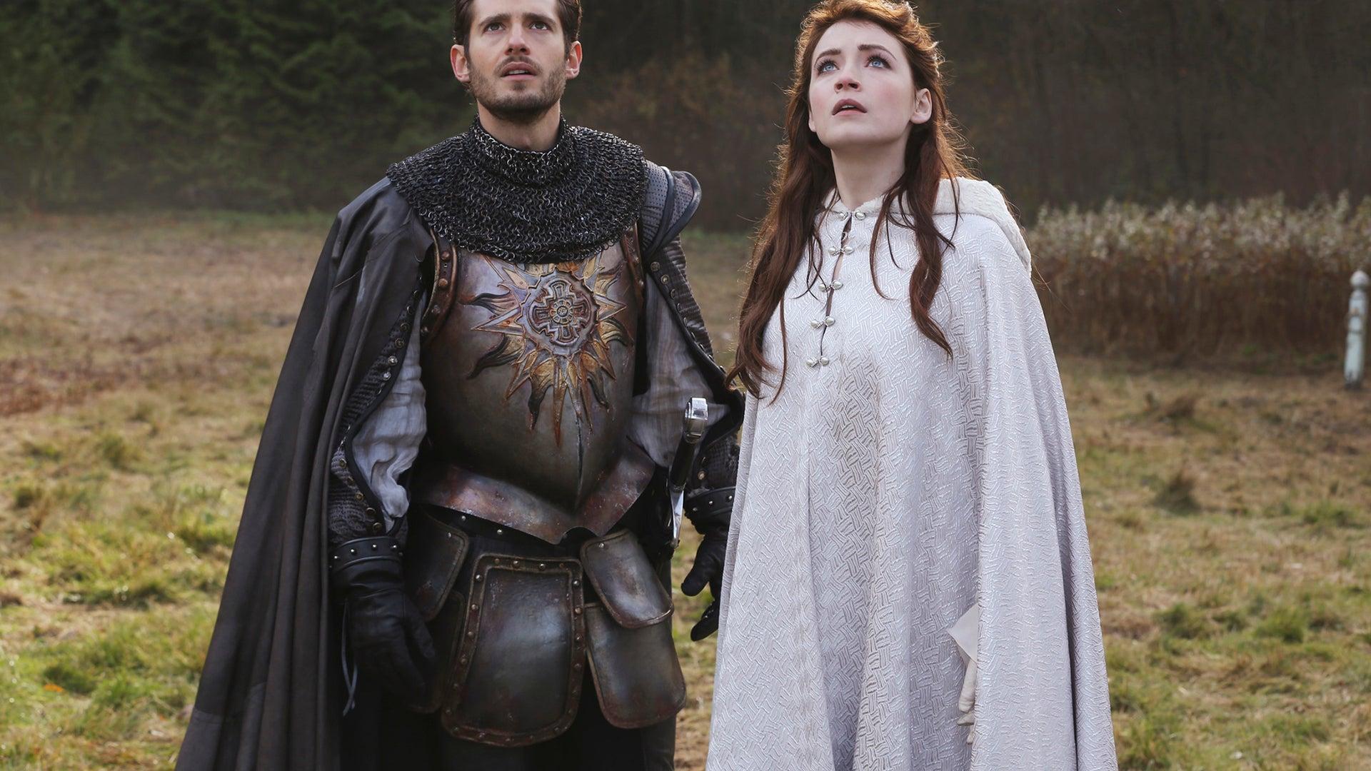 Julian Morris and Sarah Bolger, Once Upon a Time