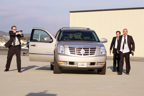 "Prison Break - Season 4 - ""Vs."" - Michael Rapaport, William Fichtner and Dominic Purcell"