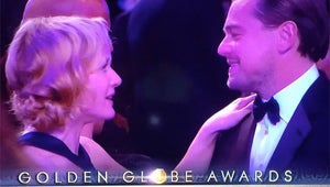 Watch Leonardo DiCaprio and Kate Winslet's Titanic Reunion at the Golden Globes