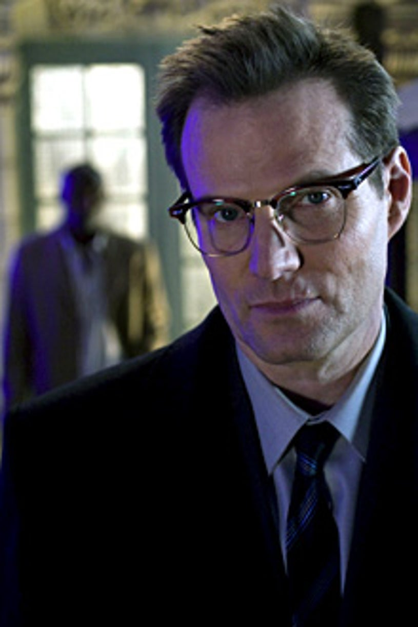 """Heroes - """"Unexpected"""" - Jimmy Jean-Louis as The Haitian, Jack Coleman as H.R.G."""