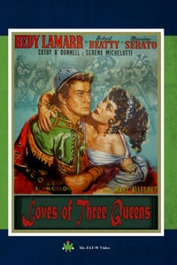 L'Amante di Paride as Helen of Troy