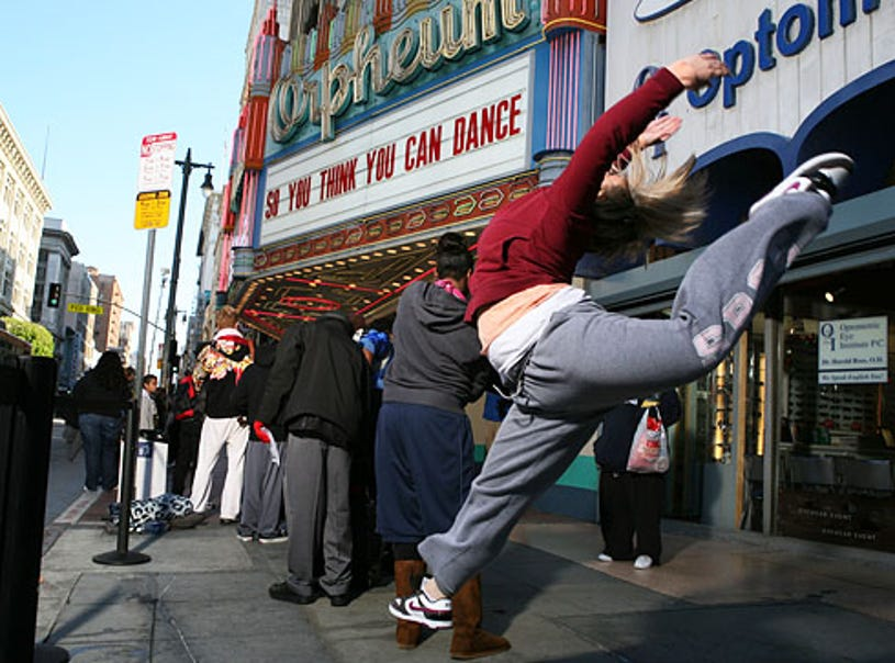 So You Think You Can Dance - Season 5 - a contestant at the Los Angeles auditions