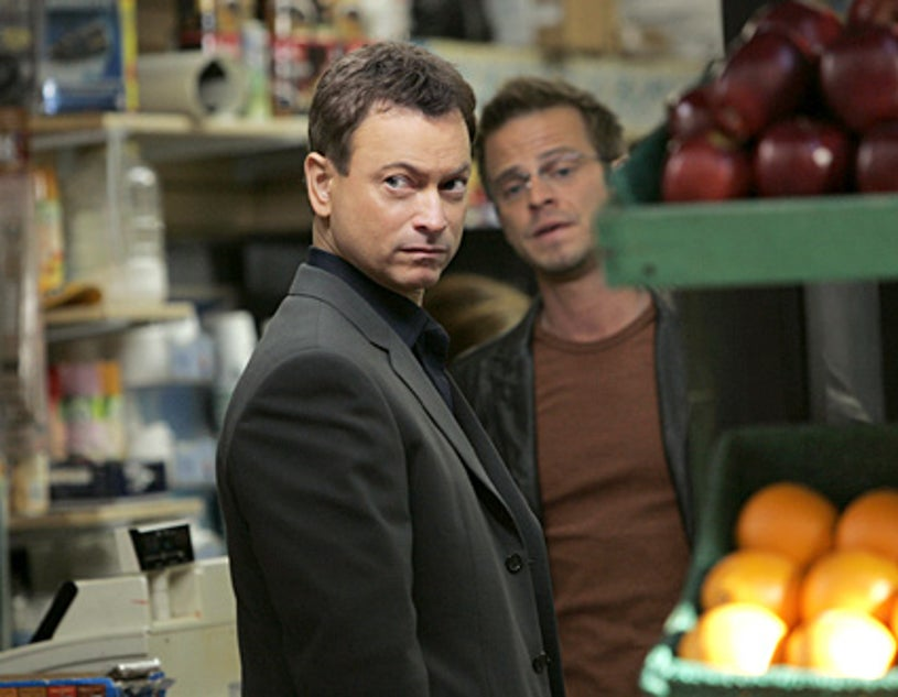 "CSI: NY - Season 4, ""Child's Play"" - Gary Sinise as Det. Mac Taylor, Carmine Giovinazzo as Danny"