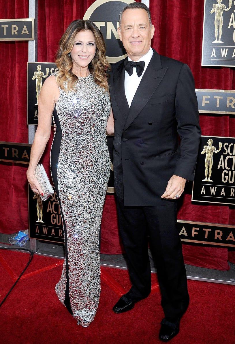 Rita Wilson and Tom Hanks - 20th Annual Screen Actors Guild Awards in Los Angeles, California, January 18, 2014