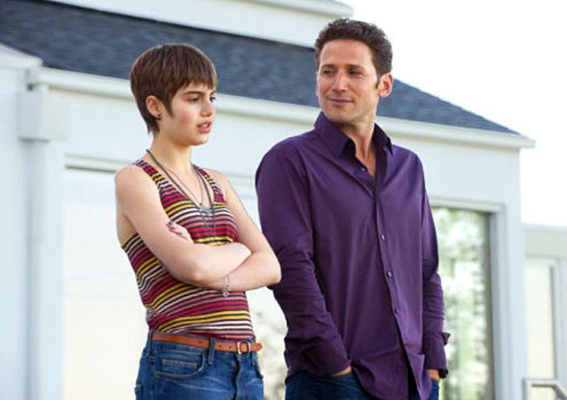 """Royal Pains - Season 2 - """"A History of Violins"""" - Sami Gayle as Natalie Grover and Mark Feuerstein as Hank Lawson"""