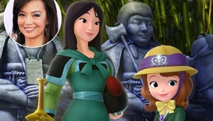 First Look: Ming-Na Wen is Back at Mulan --- This Time on Sofia the First