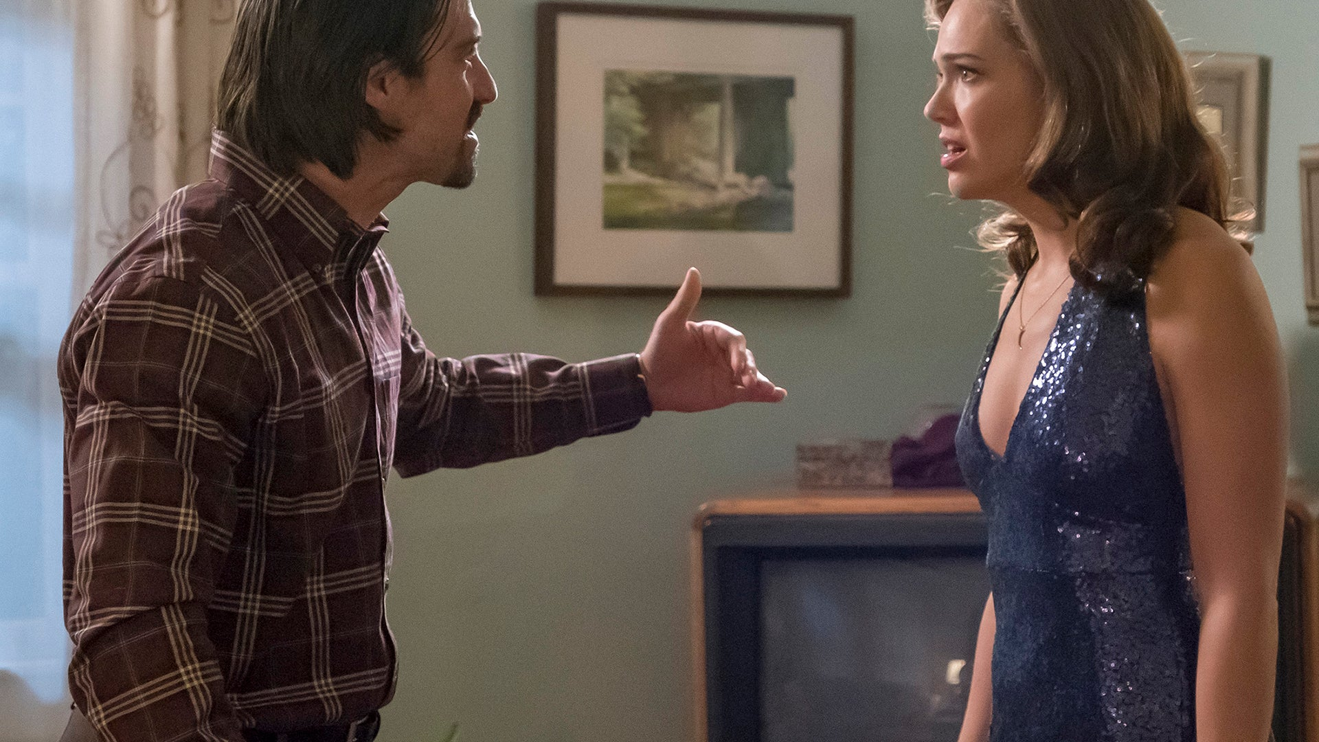 Milo Ventimiglia and Mandy Moore, This Is Us