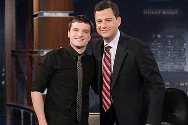 Jimmy Kimmel Live - Josh Hutcherson, Jimmy Kimmel