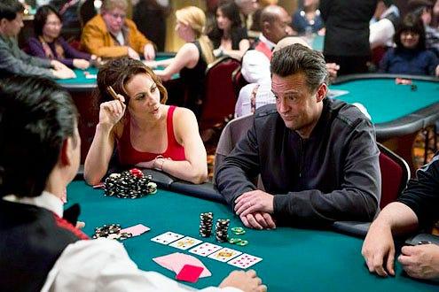 "Go On - Season 1 - ""Double Down"" - Laura Benanti and Matthew Perry"