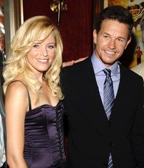 "Elizabeth Banks and Mark Wahlberg - ""Invincible"" premiere, Aug. 2006"