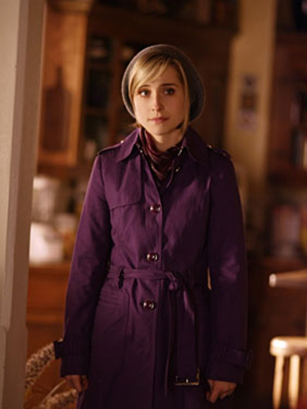 "Smallville - Season 8, ""Power"" - Allison Mack as Chloe"
