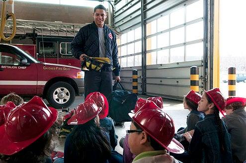 """Chicago Fire - Season 1 - """"Pilot"""" - Charlie Barnett"""