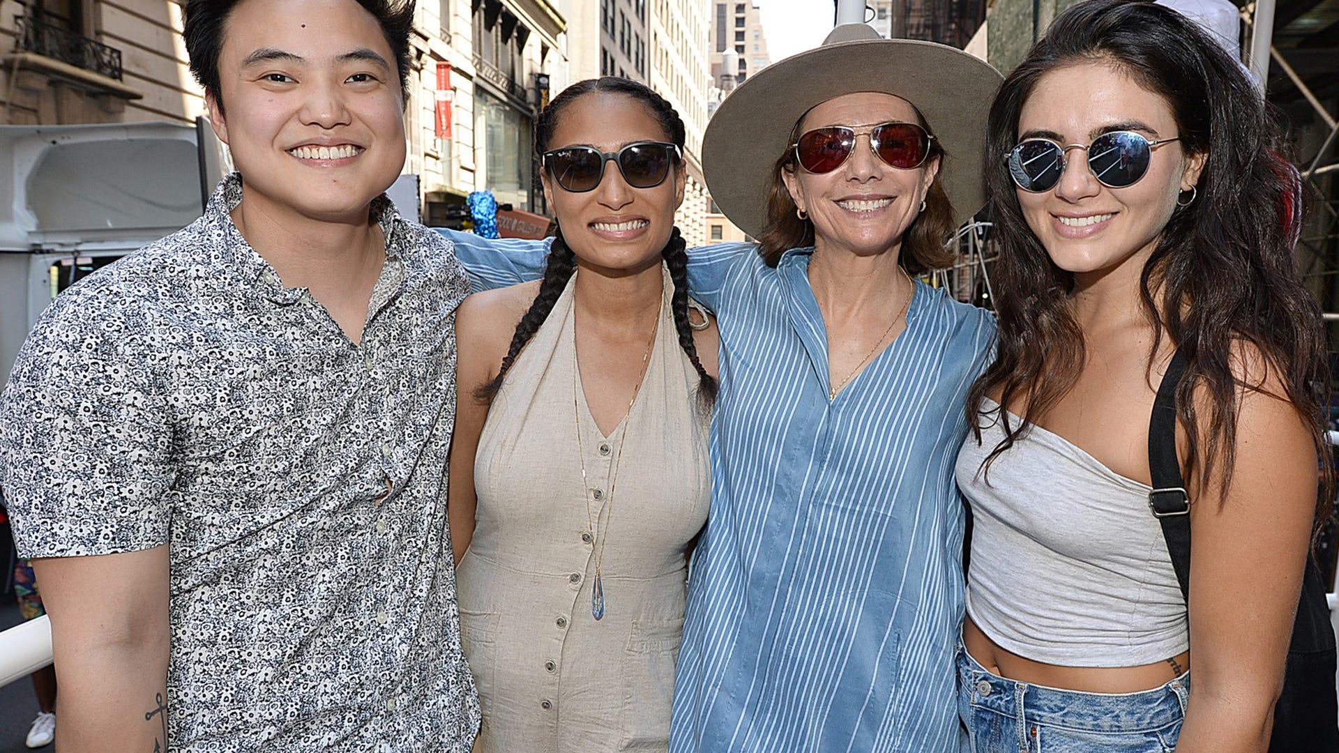 Leo Sheng, Rosanny Zayas, Ilene Chaiken, and Arienne Mandi