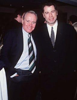 John Travolta and Jack Lemmon - 20th Annual L.A. Film Critics Awards, January 17, 1995