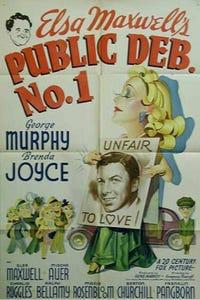 Public Deb No. 1 as Car Payment Man