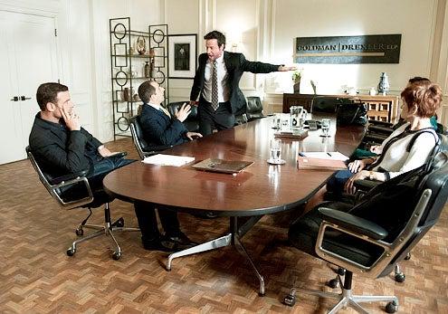 "Ray Donovan - Season 1 - ""Housewarming"" - Liev Schreiber, Peter Jacobson, Paolo Andino and Carolyn Hennesy"