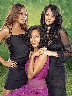 Girlfriends - Season 7 - Golden Brooks as Maya, Tracee Ellis Ross as Joan, Persia White as Lynn