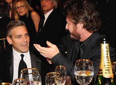 George Clooney and Sean Penn - 13th Annual Critics' Choice Awards, January 7, 2008