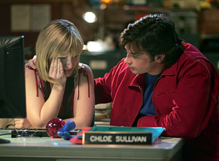 "Smallville - Season 6, ""Freak"" - Allison Mack, Tom Welling"