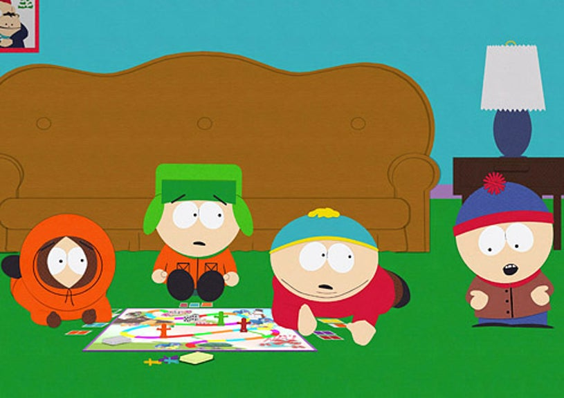 """South Park - """"Pandemic"""" - Kenny, Kyle, Cartman and Stan"""