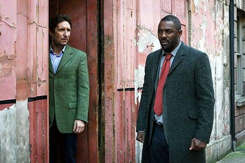Luther - Season 2 - Paul McGann and Idris Elba