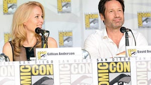Fans Flock to TV Guide Magazine's X-Files 20th Anniversary Comic-Con Panel