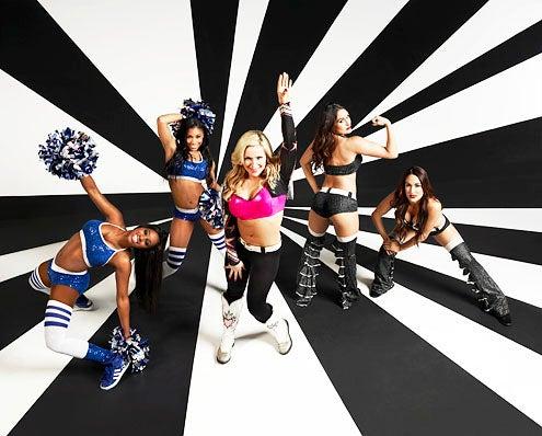 "Total Divas - Season 1 - Trinity McCray ""Naomi"", Ariane Andrew ""Cameron"", Natalie Neidhart ""Natalya"", Nicole Garcia-Colace ""Nikki Bella"" and Brianna Garcia Colace ""Brie Bella"""