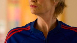 """Glee's Jane Lynch on a """"Meaner"""" Coach Sue and the """"Artful"""" School Shooting Episode"""