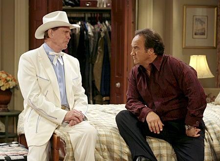 "According to Jim - Season 7, ""Jim ALmighty"" -  Lee Majors as God, Jim Belushi as Jim"